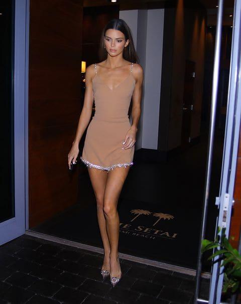 Women's Designer Dresses | David Koma Women Beige Crystal Chain ...