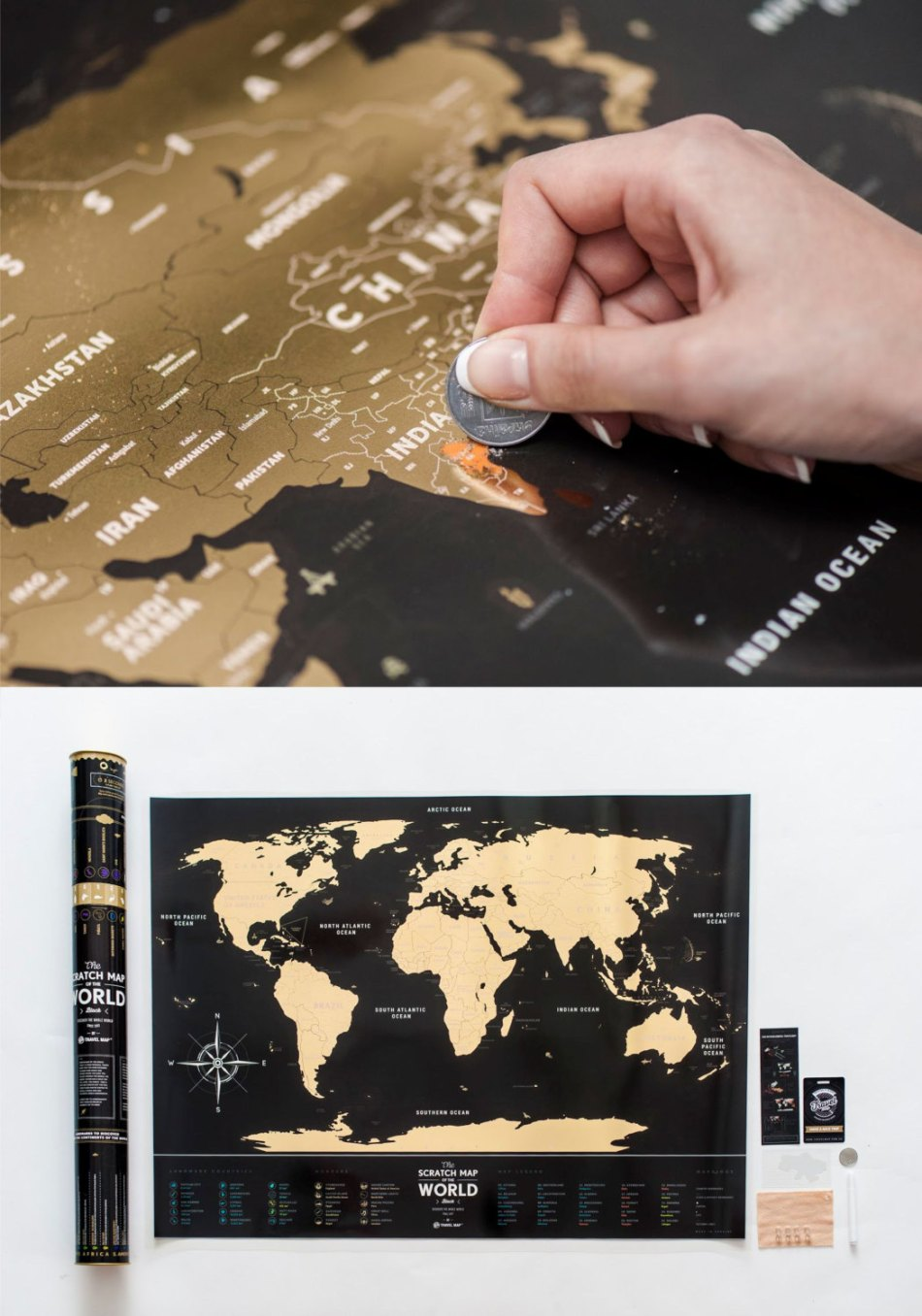 Scratch off world map gumiabroncs Images