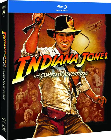Indiana Jones Bluray extras- Revealed
