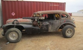 Set pics from Mad Max 4: Fury Road!