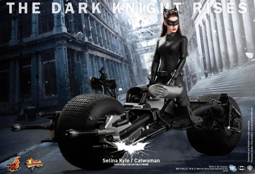 """The Dark Knight Rises Selina """"Catwoman"""" Kyle premium action figure by Hot Toys coming soon"""