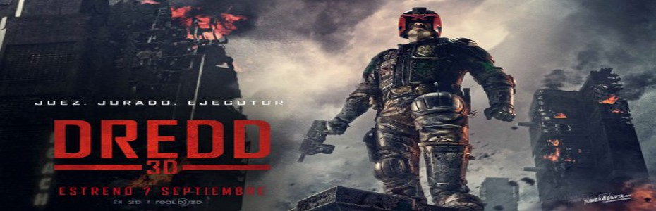 Judge Dredd 3D releases two more television spots!