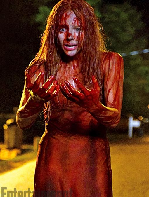 Some 'Carrie' remake pictures hit the web!