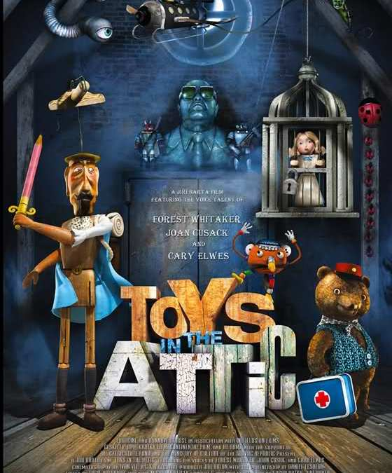 Stop Motion Sundays: Toys in the Attic