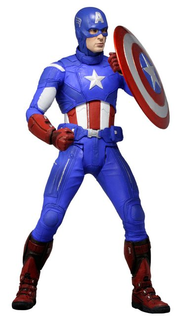 Captain America 18 inch action figure coming this December from NECA