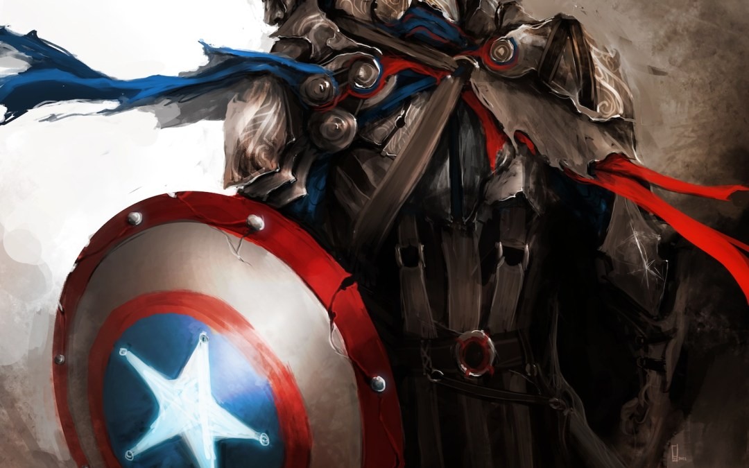 The Avengers get an Medieval looking upgrade- They Look Epic!