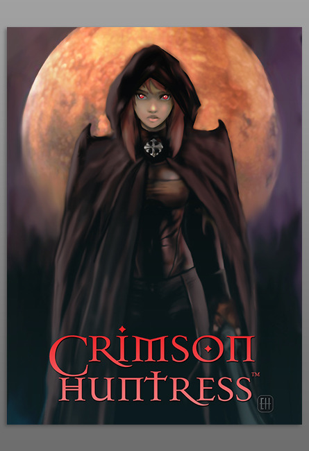 Crimson Huntress by Eric Hutchison and Inbeon Studios, a review by CynicNerd