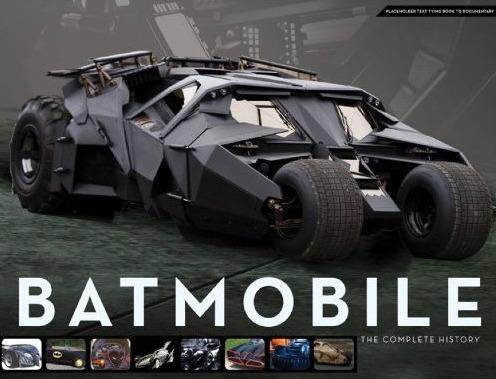 """CynicNerd reviews """"Batmobile: The Complete History"""" by Mark Cotta Vaz"""