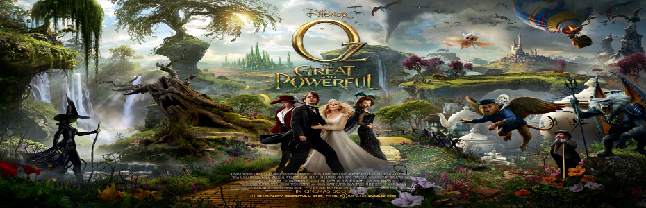 Oz: The Great and Powerful releases some brand new images!