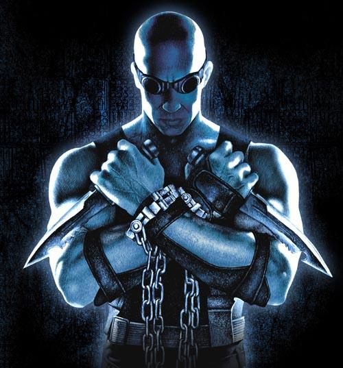 Riddick movie logo, new pic of Karl Urban as Vakko! Katie Sackhoff talks the naughty (Updated)