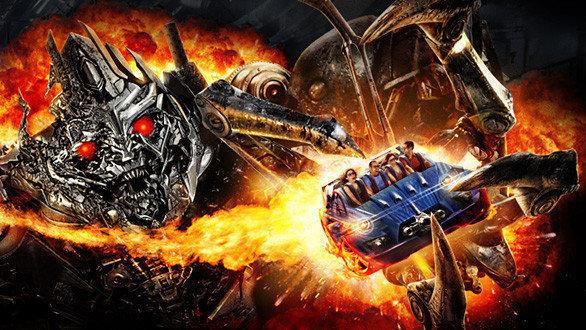 Universal Studios Orlando unveils its Transformers 3D Ride