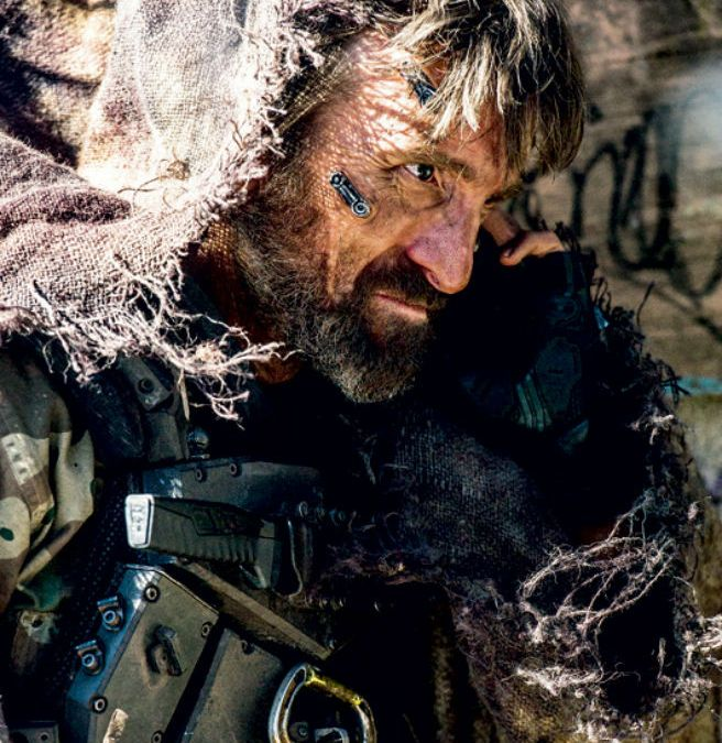 Elysium- first images of Sharlto Copely in new sci-fi film