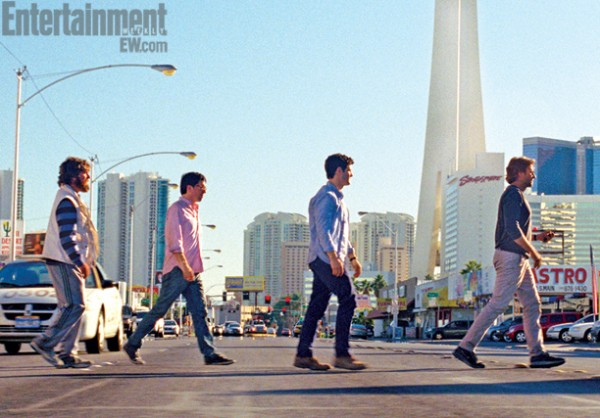 Hangover III- First official image of the Wolfpack back in Vegas!