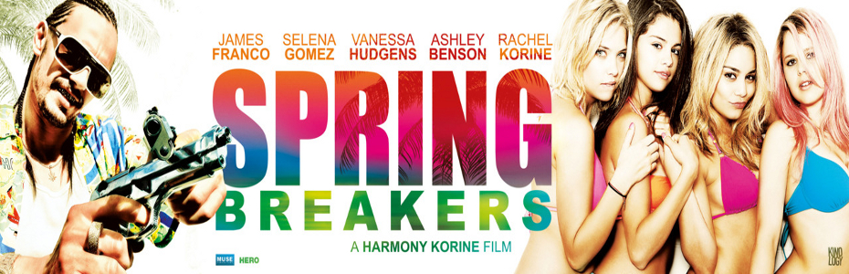 Spring Breakers red-band trailer has a funky, fresh James Franco
