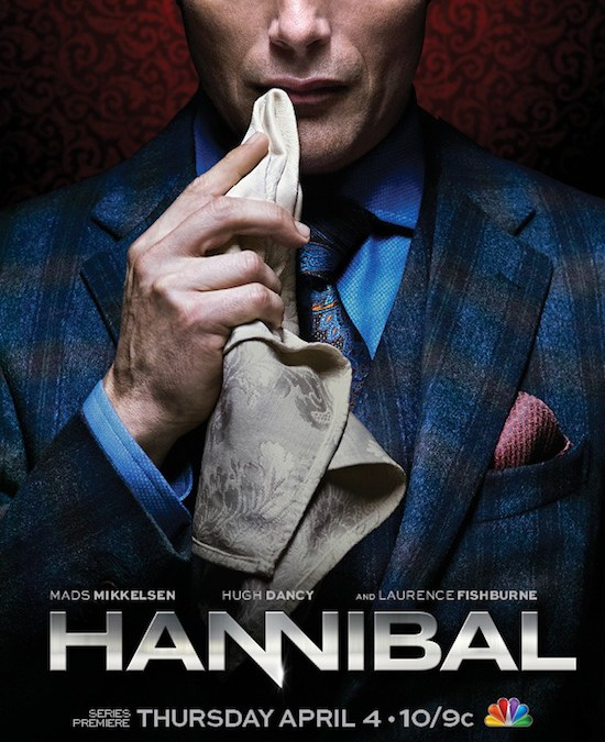 Hannibal TV Series premieres a trailer starring Mads Mikkelsen, Hugh Dancy and Laurence Fishburne