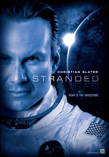 Christian Slater stars in the new creature-feature 'Stranded'