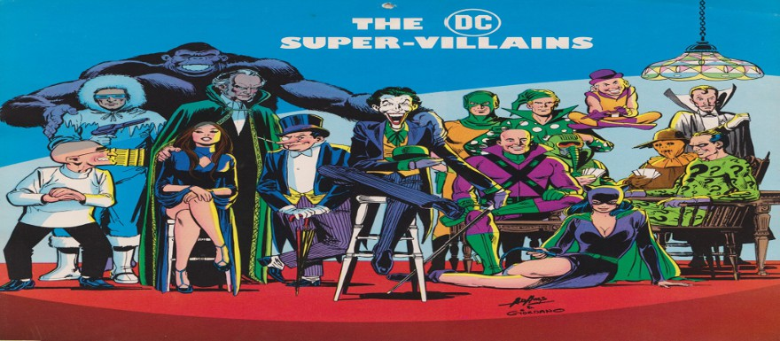 DC Comics Documentary to feature the Villains, also narrated by Christopher Lee!