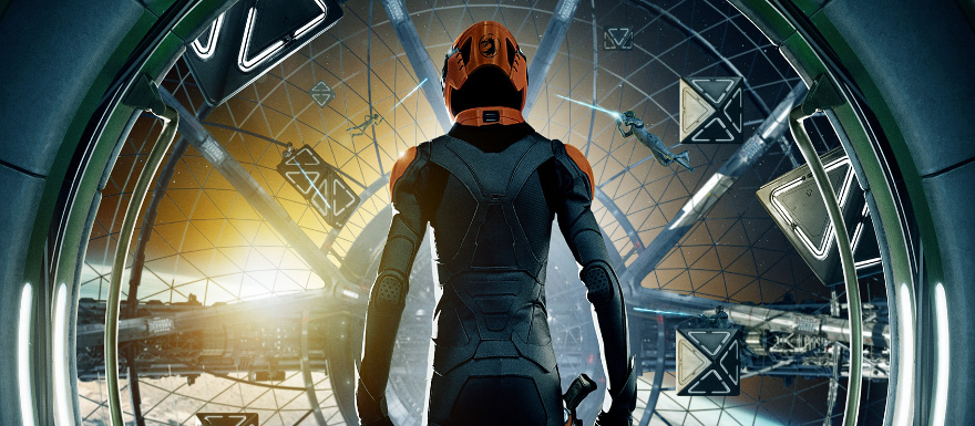 Ender's Game- First footage from film with intro from Harrison Ford and Asa Butterfield!