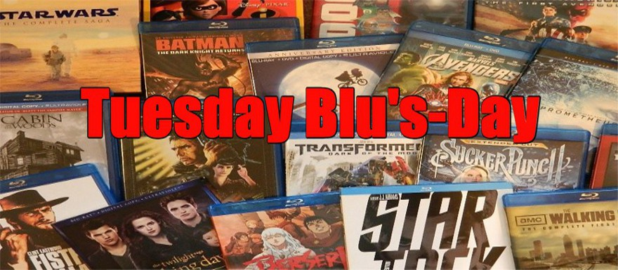 TUESDAY BLU'S DAY – NEW RELEASES ON BLU-RAY 3/20/18