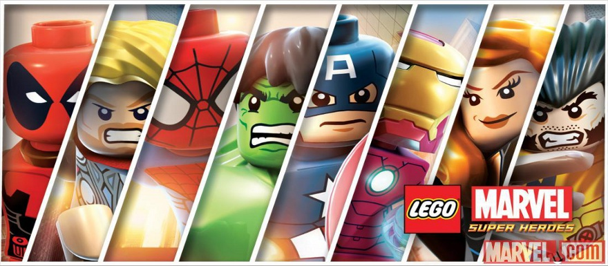 LEGO Marvel Superheroes Video Game shows us some gameplay footage featuring the Hulk, Iron Man, Abomination, and Sandman