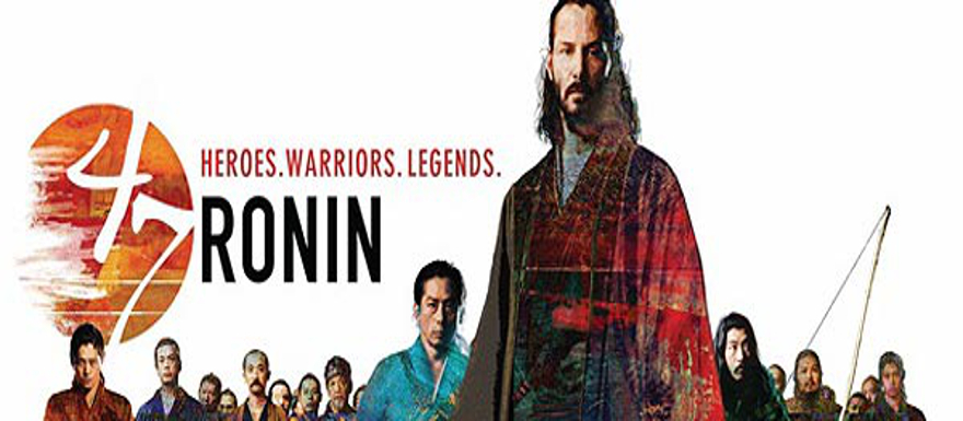 47 Ronin- new Japanese trailer shows off Keanu Reeves in samurai action!
