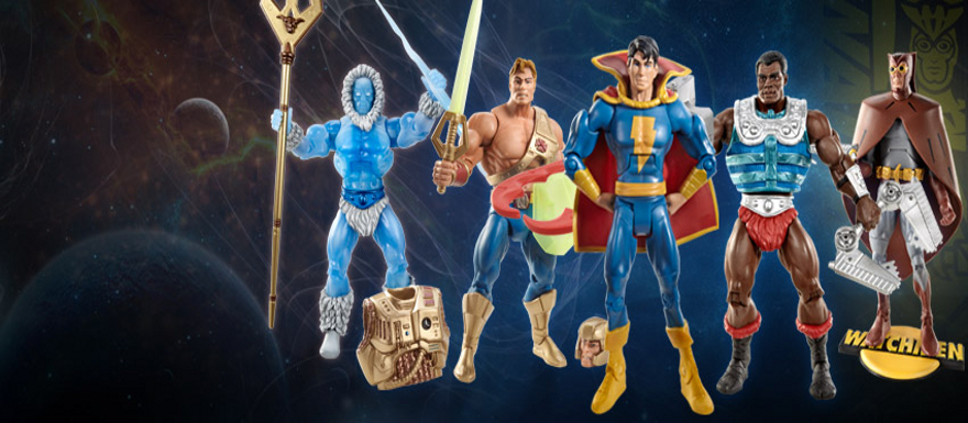 MattyCollector's July 15th Sale! New Adventures He-Man, Icer, Freddy Freeman, Night Owl!