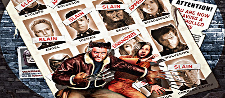 X-Men Days of Future Past: EW posters reveal two sides of a character! X-Force Script is underway!