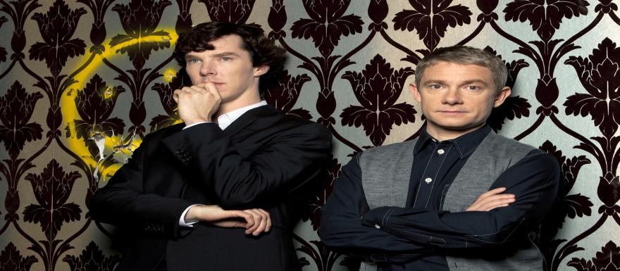 Sherlock Season 3- First official image shows a forlorn Watson