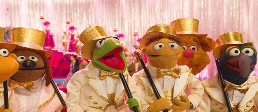Muppets Most Wanted- First poster shows Tina Fey, Ty Burrell, Ricky Gervais, and a lotta Muppets!