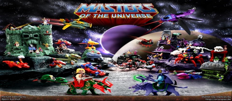 He-man and the Masters of the Universe Fan-Made LEGO everything!