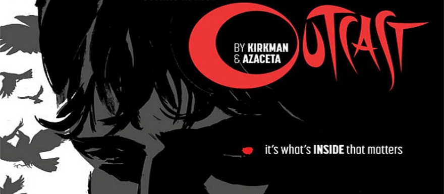 The Walking Dead Creator Robert Kirkman is bringing his comic, Outcast, to Cinemax!