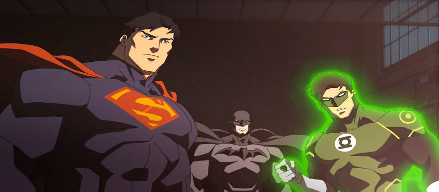 Justice League War – Blu-Ray Specs, Release Date, and Action Figures from DC Collectibles!