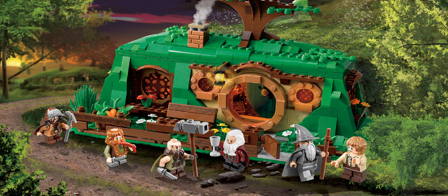 LEGO The Hobbit Video Game coming soon from WB Interactive and Tt Games!