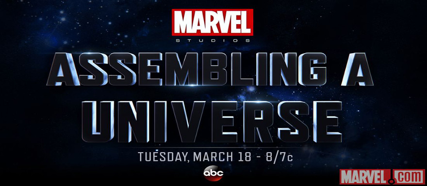"Marvel Studios and ABC to air TV special ""Assembling a Universe"" on March 18th"