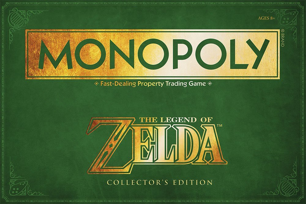 Zelda Monopoly?  Yes please!
