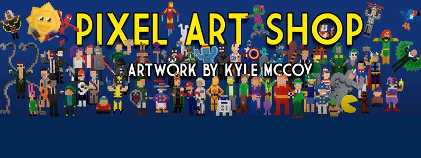 Casey chats with Kyle McCoy, the creator of Pixel Art Shop!
