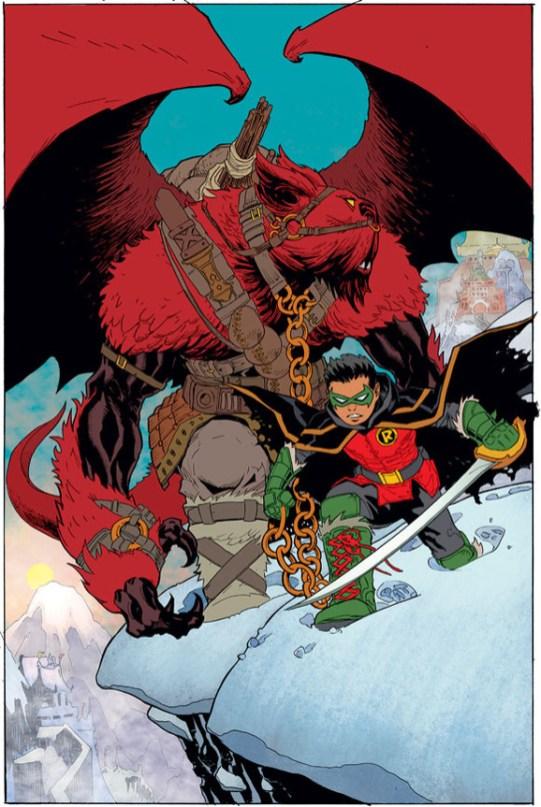 DC Robin Son of Batman