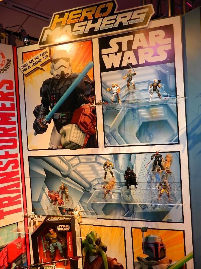 Hasbro Star Wars Mashers 01