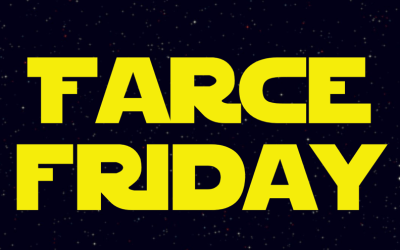 The Pursuit of Plastic Podcast is back with Star Wars Farce Friday!