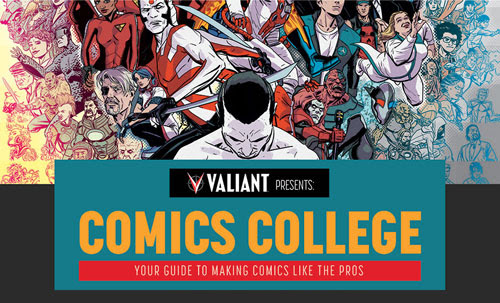 "Hastings and Valiant Present ""Comics College"" – A Weekly Instructional Workshop Beginning January 30th!"