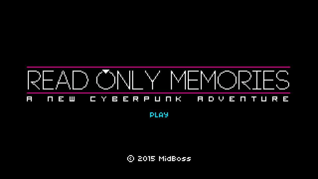 PAX East – Myrrick checks out Read Only Memories from Midboss