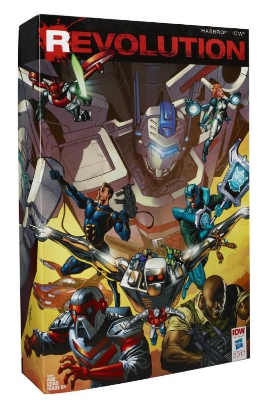 REVOLUTION Comic Action Figures CR: Hasbro
