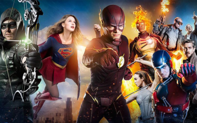 DCTV heroes suit up for midseason promo!