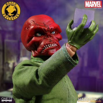 Mezco One12 Red Skull exclusive 01