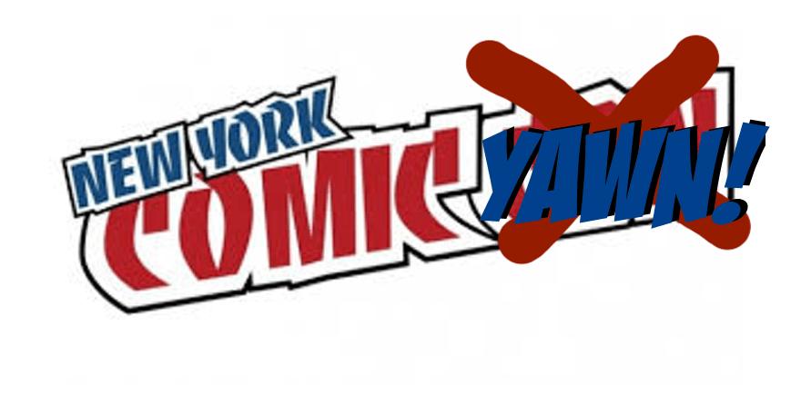 Towelite Talk presents New York Comic Yawn!