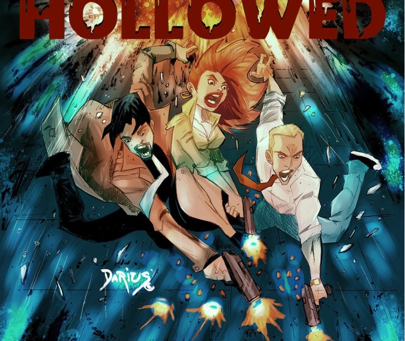 Crowd$ourcery: DFAT Comics first Comic Book, HOLLOWED, launches on Kickstarter!