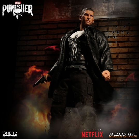 Mezco Netflix Punisher 01