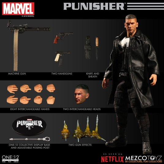 Mezco Netflix Punisher 02