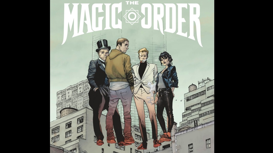 Netflix shows of first trailer for The Magic Order comic from Mark Millar