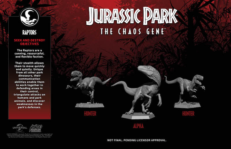 Faction Figure Reveals - Raptors
